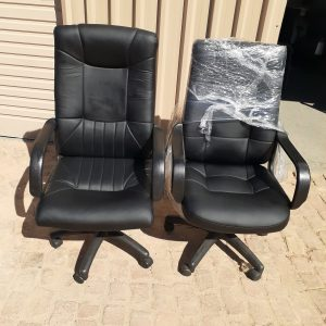 High back leather chairs
