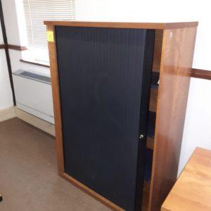 1500mm x 1050mm Cherry roller door filling cabinet