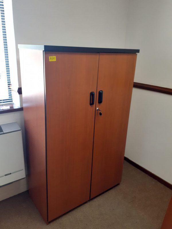 Mahogany filling cabinet 1500mm H