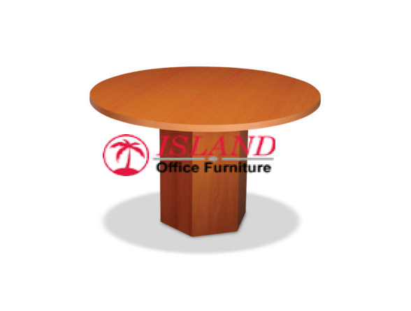 1200mm Conference Table, Barrel Legs