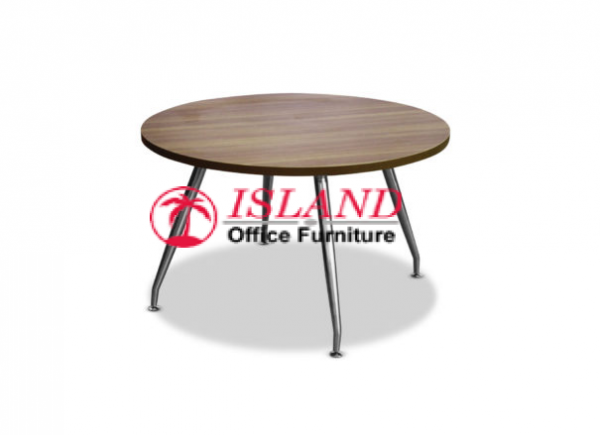 1200mm Conference Table, Curved Steel Legs